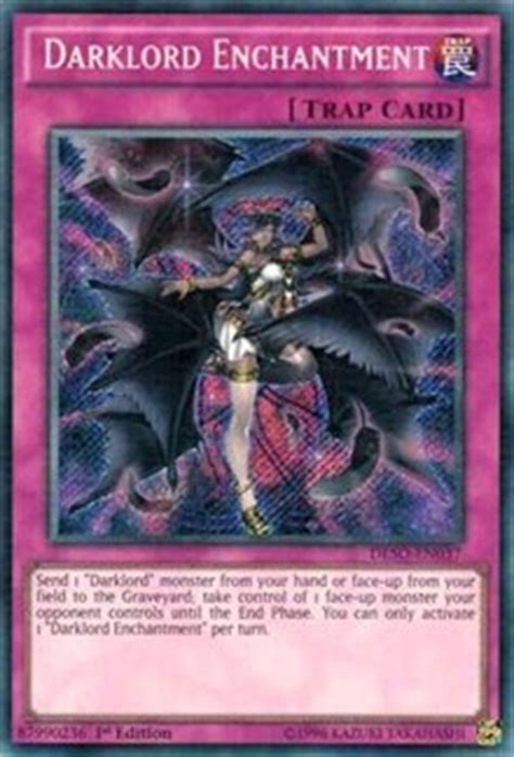 Kartu Yugioh Darklord Ixchel Secret darklord enchantment destiny soldiers yugioh