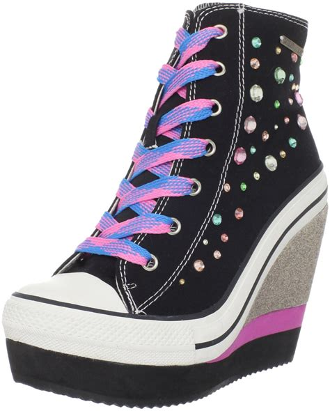 convers high heels converse wedge heel sneakers images
