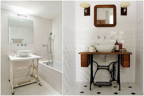 bathroom recycling 12 amazing recycled material bathroom vanity ideas