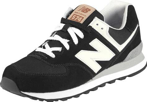 new bance new balance ml574 shoes black