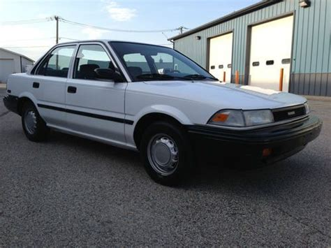 1990 toyota corolla interior purchase used 1990 toyota corolla base sedan 4 door 1 6l
