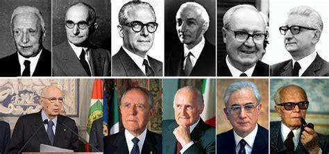 presidente della italiana speciale presidente della repubblica italiana da de nicola