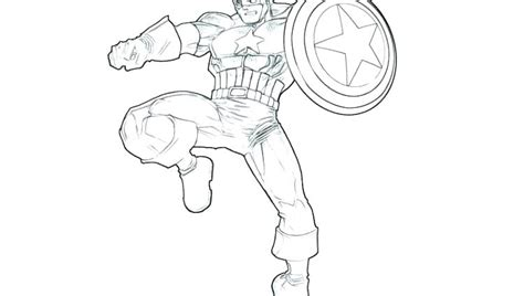captain america coloring page images