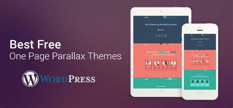 themes wordpress single page 35 best free one page parallax wordpress themes 2018