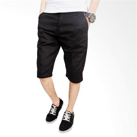 Celana Chino Hitam By Daino Store jual dections chino stretch celana pendek pria hitam