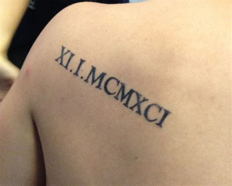 roman numeral tattoo font numeral fonts search