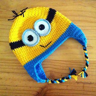 pattern crochet minion hat ravelry minion earflap beanie pattern by janet carrillo