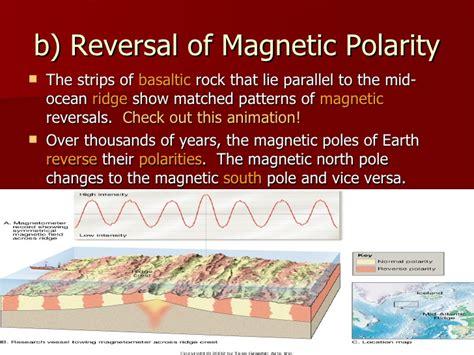 pattern of magnetic reversal unit iii dynamic crust powerpoint