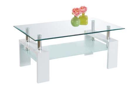 table basse en bois blanche table basse pas cher