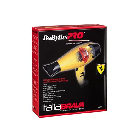 Babyliss Hair Dryer Yellow babyliss pro babyliss pro italiabrava brushless