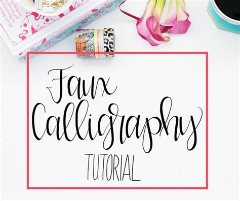 Lettering Tutorial Step By Step | 25 best ideas about modern calligraphy tutorial on