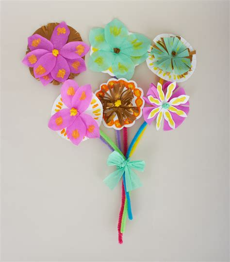 How To Make A Paper Bouquet - craft how to make a paper bouquet