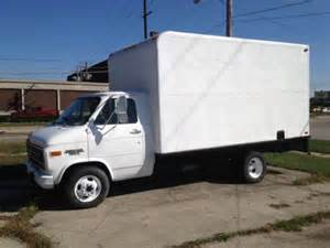 Chevrolet Box Truck Purchase Used 1993 Chevy G30 14 Ft Box Truck In Rockford