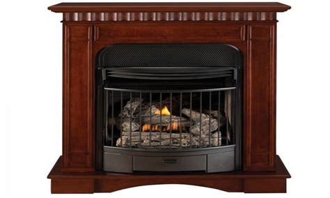 ventless gas fireplace corner ventless propane fireplaces