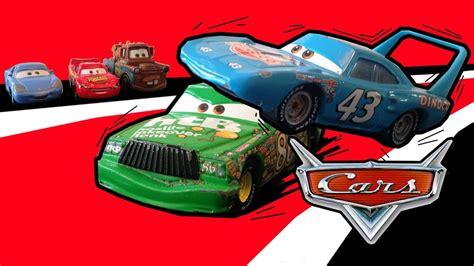 pixar cars episode 2 the king vs hicks