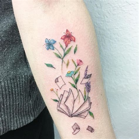tattoos of books designs best 20 book ideas on reading