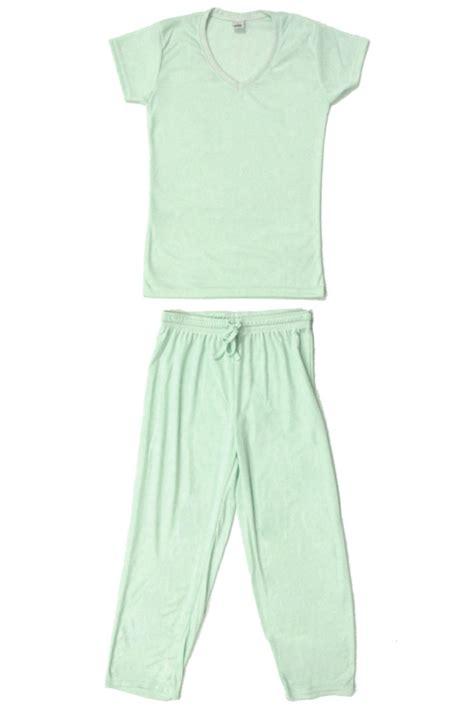 light mint green dress shirt cute comfy pastel v neck womens pajama set light mint