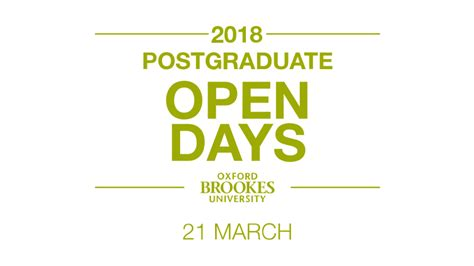 Oxford Mba Open Day by Business School Postgraduate Open Day Oxford Brookes