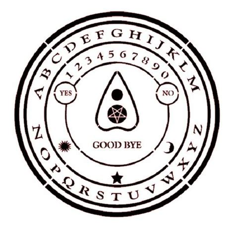 printable ouija board stencil 96 best ouija images on pinterest ouija boards and