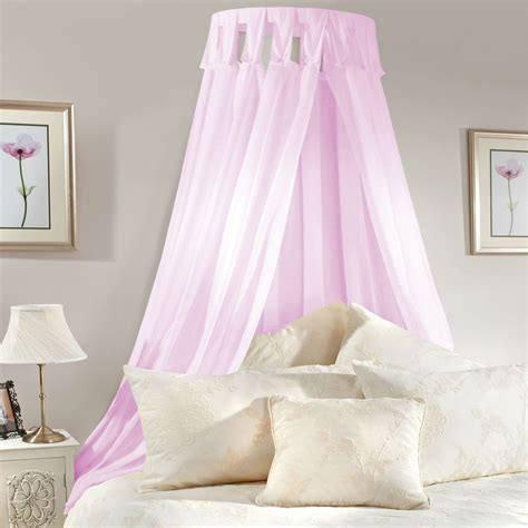 princess bed canopy princess bed canopy coronet corona pink lilac voile bedroom complete set corona canopy