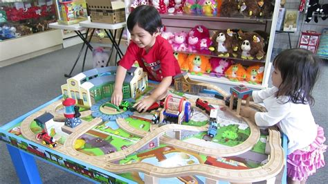 thomas the train play table the kids the thomas and friends wooden table play set