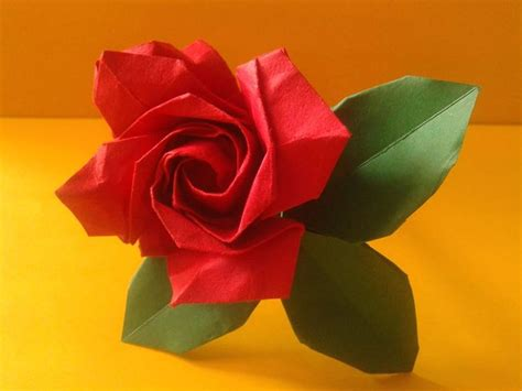Origami Roses - 837 best origami images on