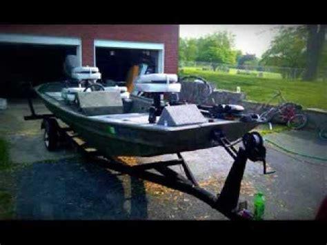 14 ft tracker jon boat cover 16ft jon boat conversion youtube