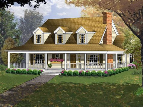 enjoy acadian style house plans with wrap around porch