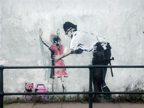 Manhattan Wall Mural banksy b ray bloggin