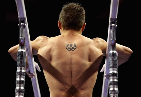 gymnastics tattoos olympic gymnasts and tattoos total gymnastics