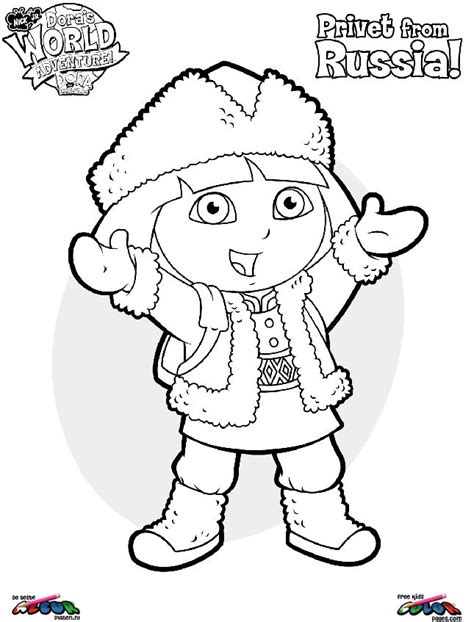 dora thanksgiving coloring page free coloring pages of dora pet