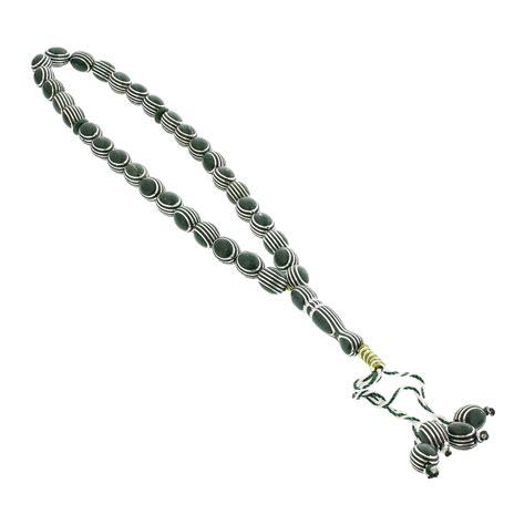 33 bead rosary 33 count forest green islamic rosary prayer tasbih