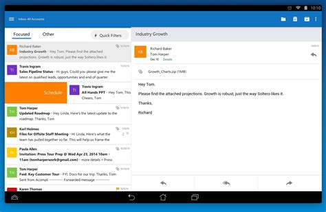 outlook for android mobile after acquiring mobile email startup acompli microsoft launches outlook for android and ios