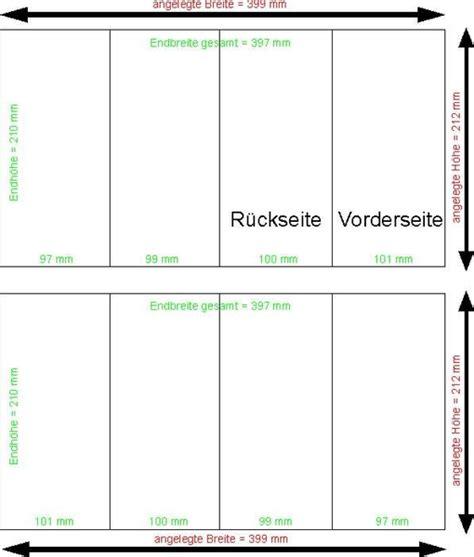 Word Vorlage Wickelfalz Faltblatt Din Lang Wickelfalz 8 Seiten 135g Bilderdruck Gl 228 Nzend Allesdruckerei De