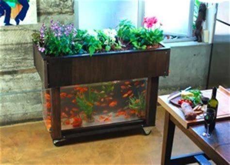 Kitchenalone E Fish Tank Vegetable Garden