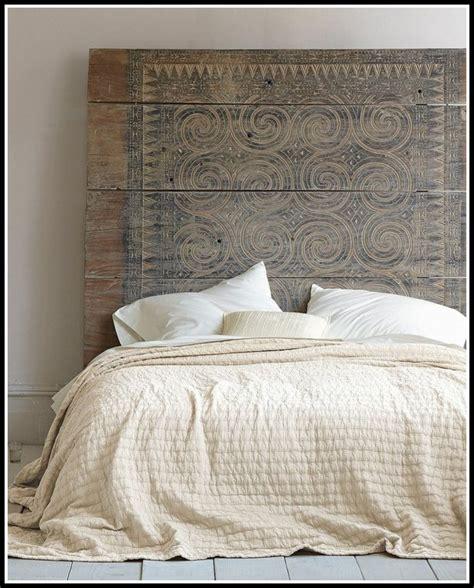 Diy Bett Kopfteil by Bett Kopfteil Gepolstert Diy Betten House Und Dekor