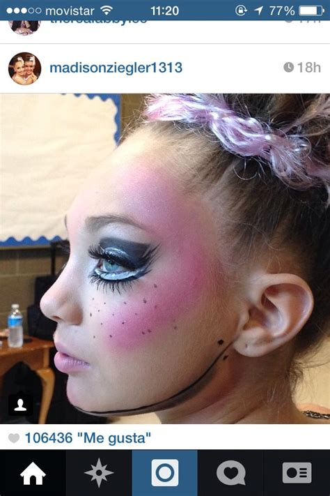 makeup tutorial mackenzie ziegler maddie ziegler from dance moms really cute competition