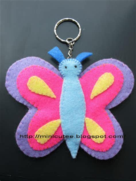 Gantungan Kunci 1 Muka minicutee gantungan kunci butterfly