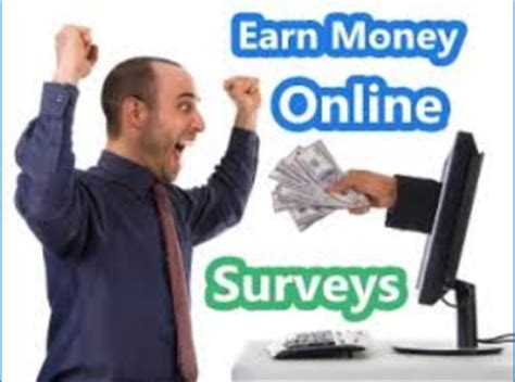 Make Money From Online Surveys - earning online dollars earn at home easy and fast