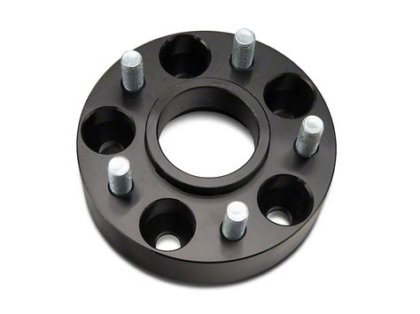Jeep Wrangler Wheel Bolt Pattern Redrock 4x4 Wrangler 1 5 In Wheel Spacers Black 5x4 5