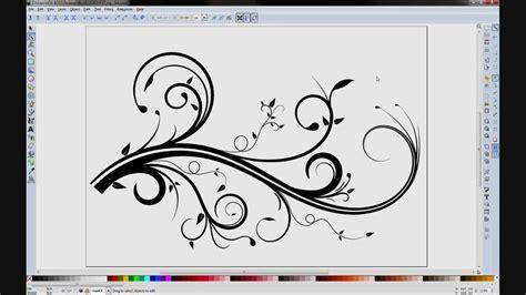 inkscape tutorial hello kitty inkscape flourish doovi
