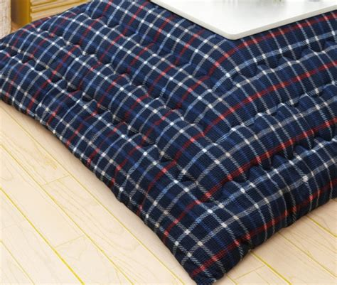 plaid futon cover kotatsu japanese foot warmer futon cover for 75 80cm