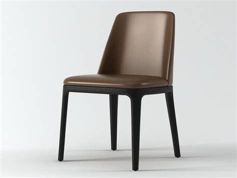 Contemporary Furniture Bedroom Sets - grace chair 3d model poliform