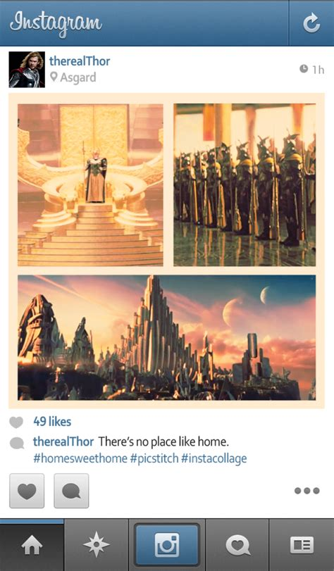 Designtaxi Instagram | the pictures superheroes may post if they used instagram