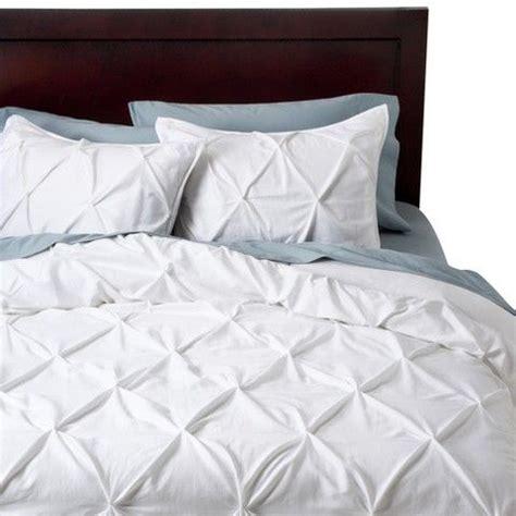 threshold comforter threshold 174 thresholdtm pinched pleat duvet cover set