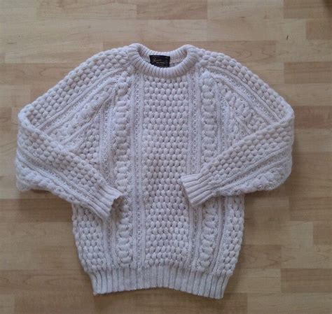 How To Make Handmade Sweater - handmade sweater fisherman aran wool