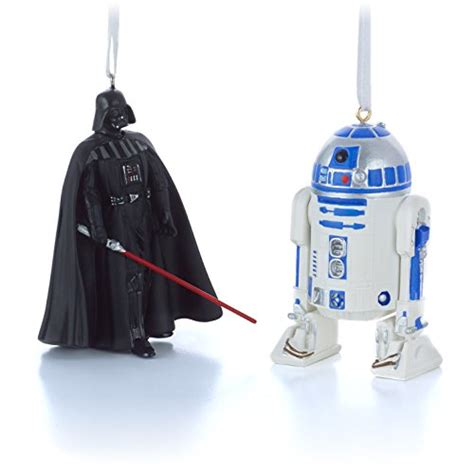 hallmark star wars darth vader and r2d2 christmas