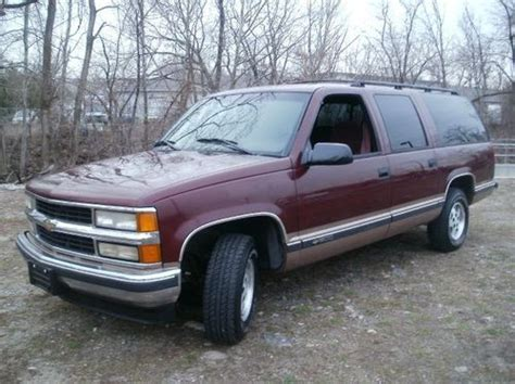 1995 suburban truck find used 1995 chevrolet suburban full size truck great for towing in lodi new jersey united