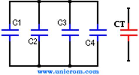 capacitancia y capacitor es lo mismo condensadores o capacitores en serie y paralelo electr 243 nica unicrom