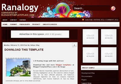 free xml flash templates for blogger 40 free blogger xml templates for your next blog blog